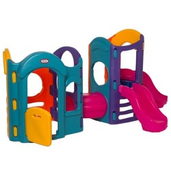 Little Tikes 8-in-1 Adjustable Playground (Colors May Vary)