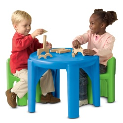 Bright 'N Bold™ Table & Chairs Set